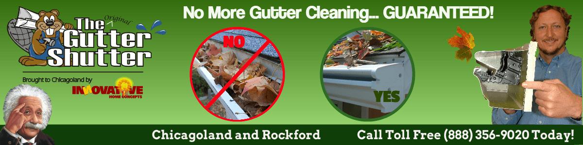 Gutter Shutter Header Best Leafguard