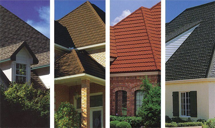 Decra and Gerard Stone coated steel roofs