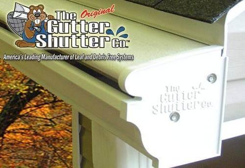 gutter shutter and logo