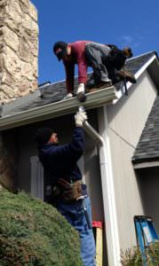 guys installing new gutters