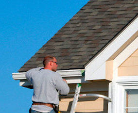 homeowner install his own gutters