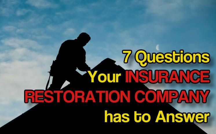 insurance restoration pro inspecting a roof