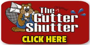 GutterShutter gutter guard button
