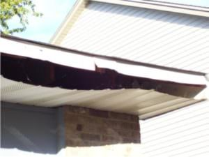 Picture of open soffit