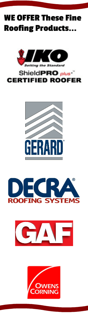 Roofing Products offered in Chicago market