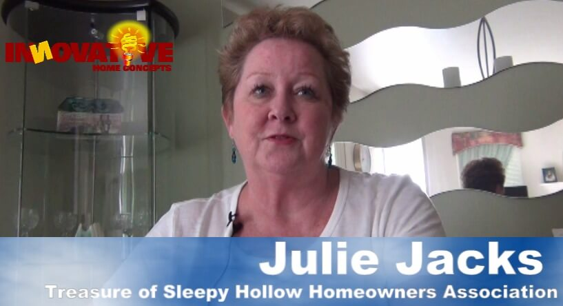 hoa treasure talks about hail damage on her townhouses