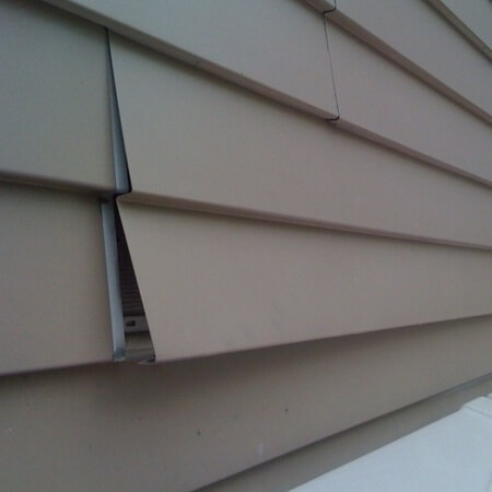Aluminum Siding Inspection Hail And Wind Damage