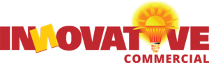 logo for innovative commercial roofing